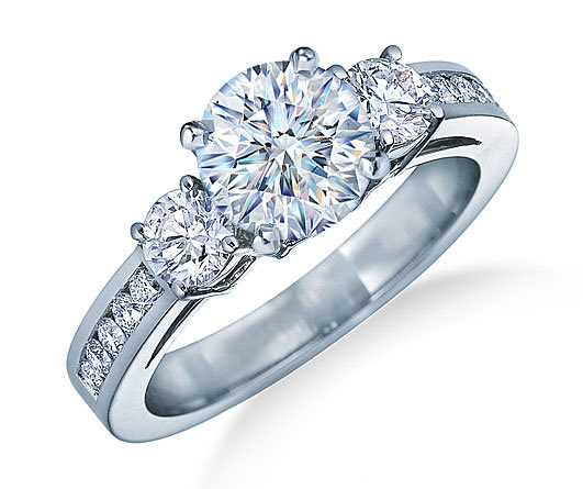 solitaire rings three stone rings pave diamond engagement rings halo ...
